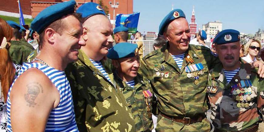 Глава края испикер парламента поздравили воинов-десантников иветеранов ВДВ
