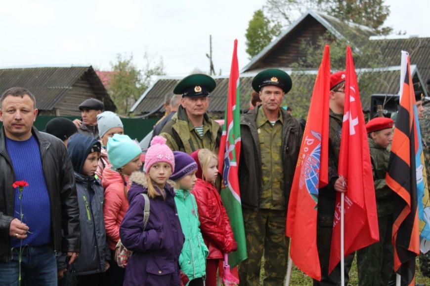 В Селижарово открыли памятник героям локальных войн