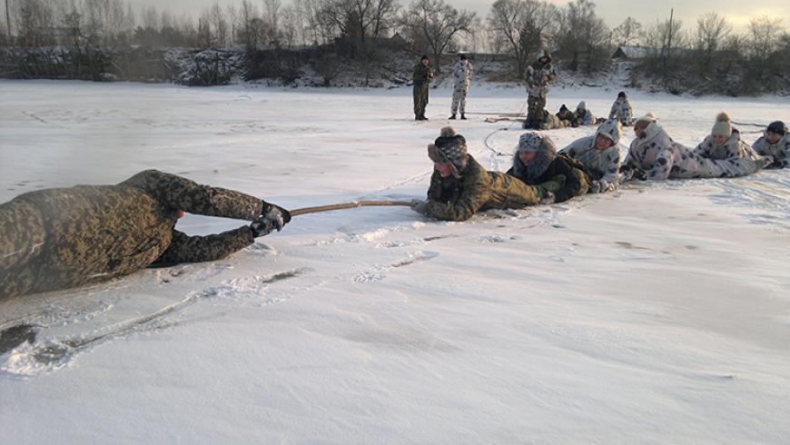 Представители Приморского «БОЕВОГО БРАТСТВА» провели занятия для курсантов дальнереченского спецназа