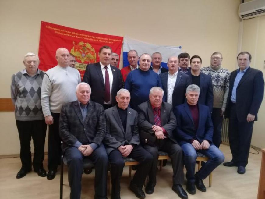 В Дмитрове создано региональное отделение организации ветеранов Вооруженных сил РФ