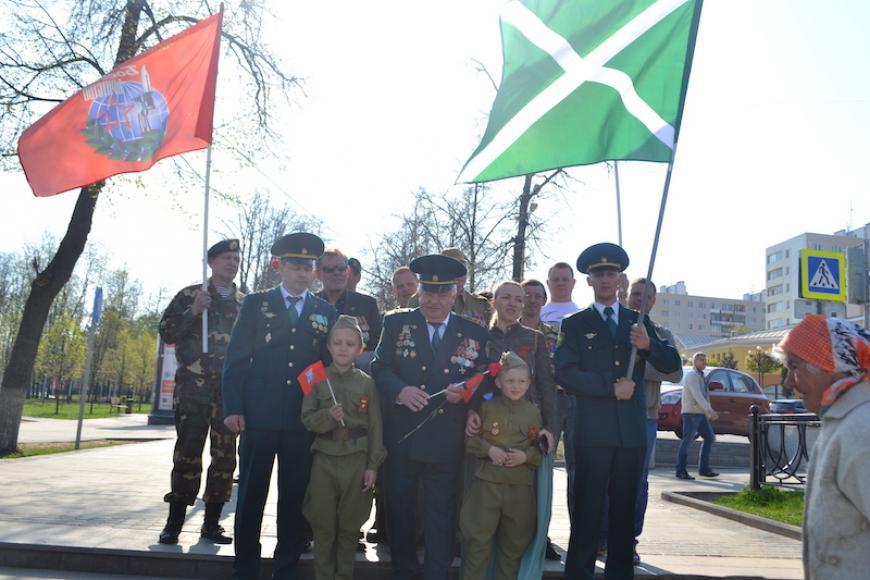 Дмитровское «Боевое Братство» приняло участие в автопробеге по местам боевой славы